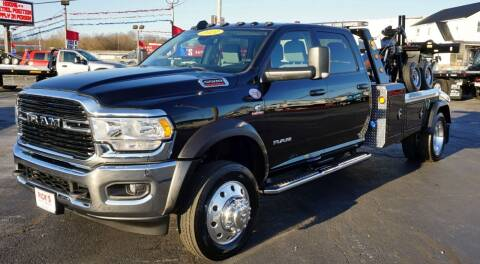2020 RAM 5500 Crew 4x4 for sale at Ricks Auto Sales, Inc. in Kenton OH