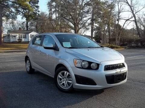 2013 Chevrolet Sonic for sale at CORTEZ AUTO SALES INC in Marietta GA
