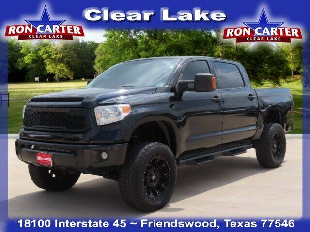 2015 Toyota Tundra for sale at Ron Carter  Clear Lake Used Cars in Houston TX