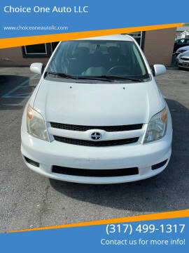 2006 Scion xA for sale at Choice One Auto LLC in Beech Grove IN