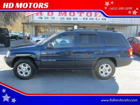 2003 Jeep Grand Cherokee for sale at HD MOTORS in Kingsport TN