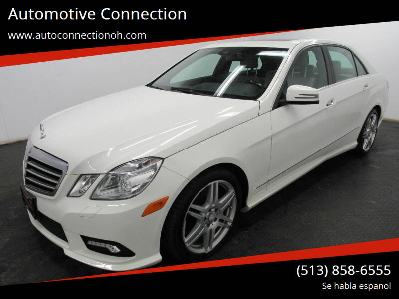 2010 Mercedes-Benz E-Class for sale at Automotive Connection in Fairfield OH
