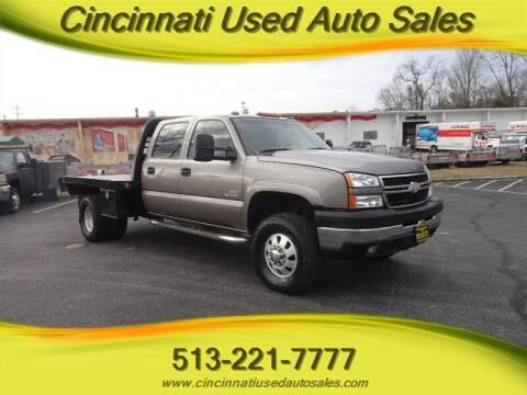 2007 Chevrolet Silverado 3500 Classic for sale at Cincinnati Used Auto Sales in Cincinnati OH