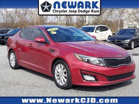 2015 Kia Optima for sale at NEWARK CHRYSLER JEEP DODGE in Newark DE