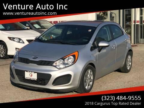 2014 Kia Rio 5-Door for sale at Venture Auto Inc in South Gate CA