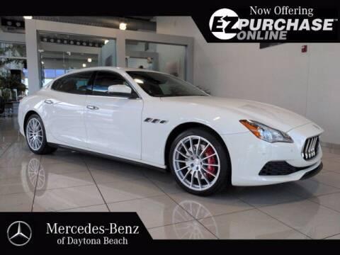 2017 Maserati Quattroporte for sale at Mercedes-Benz of Daytona Beach in Daytona Beach FL
