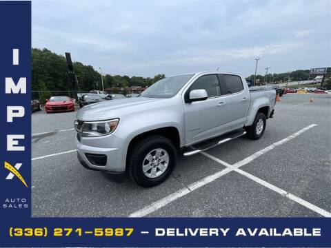 2019 Chevrolet Colorado for sale at Impex Auto Sales in Greensboro NC