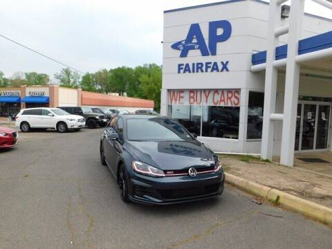 2021 Volkswagen Golf GTI for sale at AP Fairfax in Fairfax VA