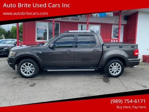2007 Ford Explorer Sport Trac for sale at Auto Brite Used Cars Inc in Saginaw MI