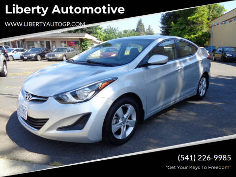 2016 Hyundai Elantra for sale at Liberty Automotive in Grants Pass OR