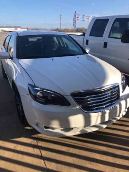 2012 Chrysler 200 for sale at Driver's Choice in Sherman TX