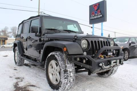 2015 Jeep Wrangler Unlimited for sale at Go2Motors in Redford MI