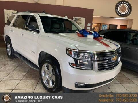 2015 Chevrolet Tahoe for sale at Amazing Luxury Cars in Snellville GA