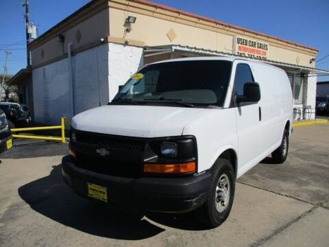 2014 Chevrolet Express Cargo for sale at Metroplex Motors Inc. in Houston TX
