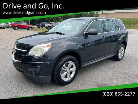 2013 Chevrolet Equinox for sale at Drive and Go, Inc. in Hickory NC