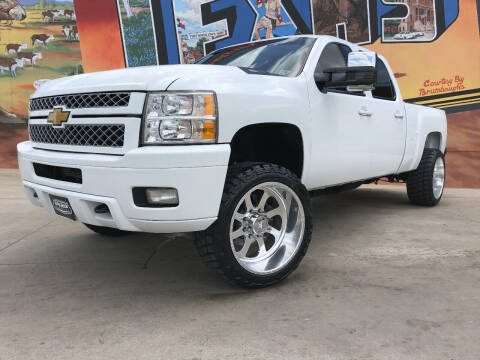 2014 Chevrolet Silverado 2500HD for sale at Sparks Autoplex Inc. in Fort Worth TX