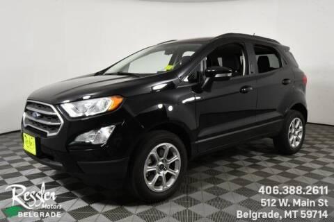 2020 Ford EcoSport for sale at Danhof Motors in Manhattan MT