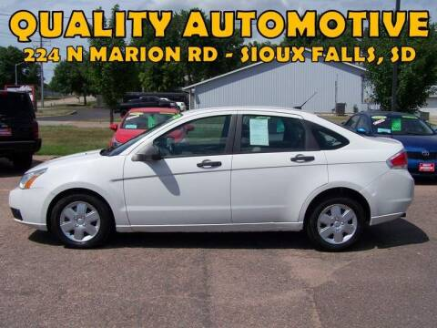 2010 Ford Focus for sale at Quality Automotive in Sioux Falls SD