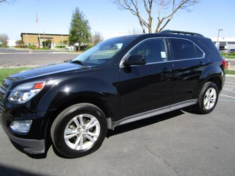 2016 Chevrolet Equinox for sale at KM MOTOR CARS in Modesto CA