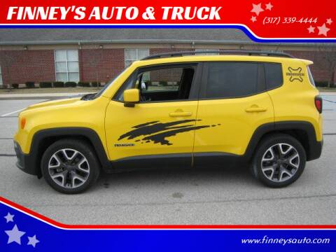 2015 Jeep Renegade for sale at FINNEY'S AUTO & TRUCK in Atlanta IN
