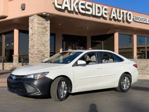 2015 Toyota Camry for sale at Lakeside Auto Brokers Inc. in Colorado Springs CO