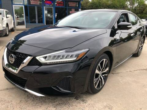 2021 Nissan Maxima for sale at Capital Motors in Raleigh NC