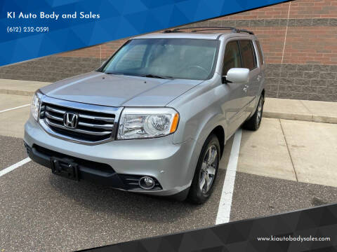 2014 Honda Pilot for sale at KI Auto Body and Sales in Lino Lakes MN