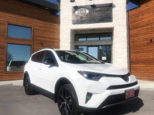 2017 Toyota RAV4 for sale at Hamilton Motors in Lehi UT