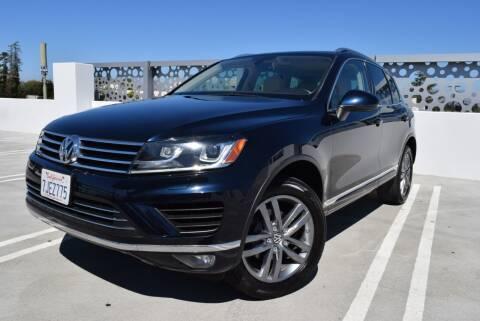 2015 Volkswagen Touareg for sale at Dino Motors in San Jose CA