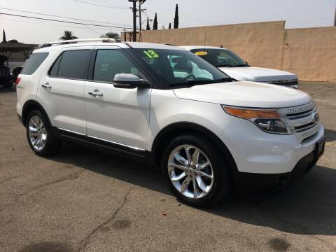 2013 Ford Explorer for sale at JR'S AUTO SALES in Pacoima CA