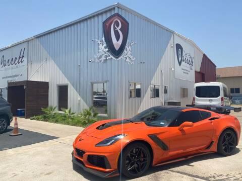 2019 Chevrolet Corvette for sale at Barrett Auto Gallery in San Juan TX