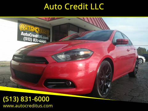 2013 Dodge Dart for sale at Auto Credit LLC in Milford OH