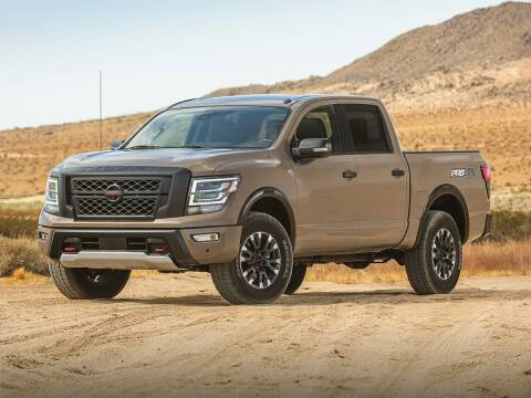 2021 Nissan Titan for sale at Tom Peacock Nissan (i45used.com) in Houston TX