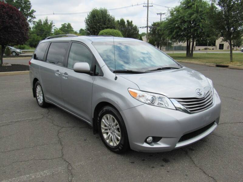 2014 Toyota Sienna for sale at International Motor Group LLC in Hasbrouck Heights NJ
