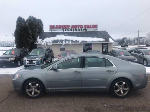 2009 Chevrolet Malibu for sale at BLAESER AUTO LLC in Chippewa Falls WI