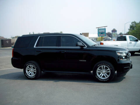 2017 Chevrolet Tahoe for sale at GARY'S AUTO PLAZA in Helena MT