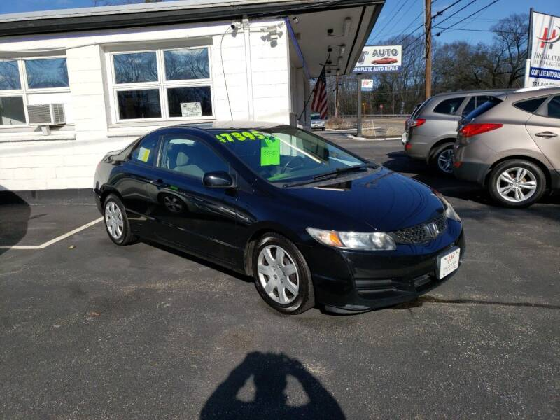 2011 Honda Civic for sale at Highlands Auto Gallery in Braintree MA