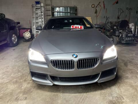 2012 BMW 6 Series for sale at Frank's Garage in Linden NJ