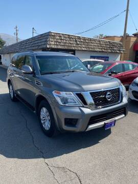 2017 Nissan Armada for sale at Autobahn Motors Corp in Bountiful UT