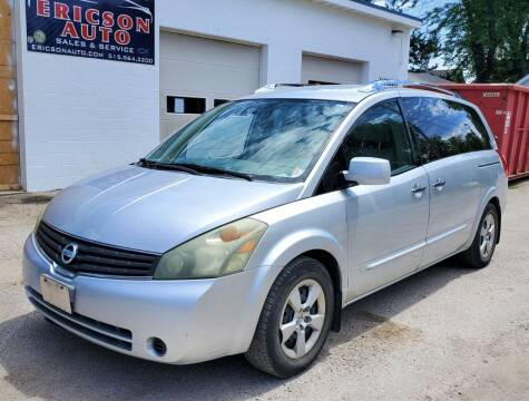 2007 Nissan Quest for sale at Ericson Auto in Ankeny IA