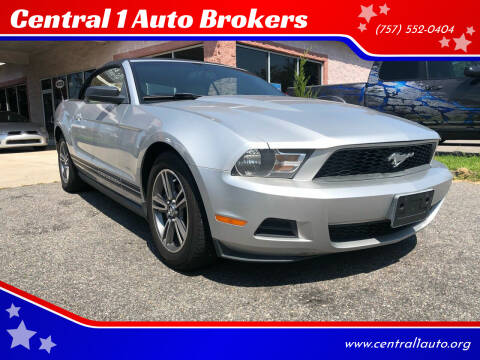 2010 Ford Mustang for sale at Central 1 Auto Brokers in Virginia Beach VA