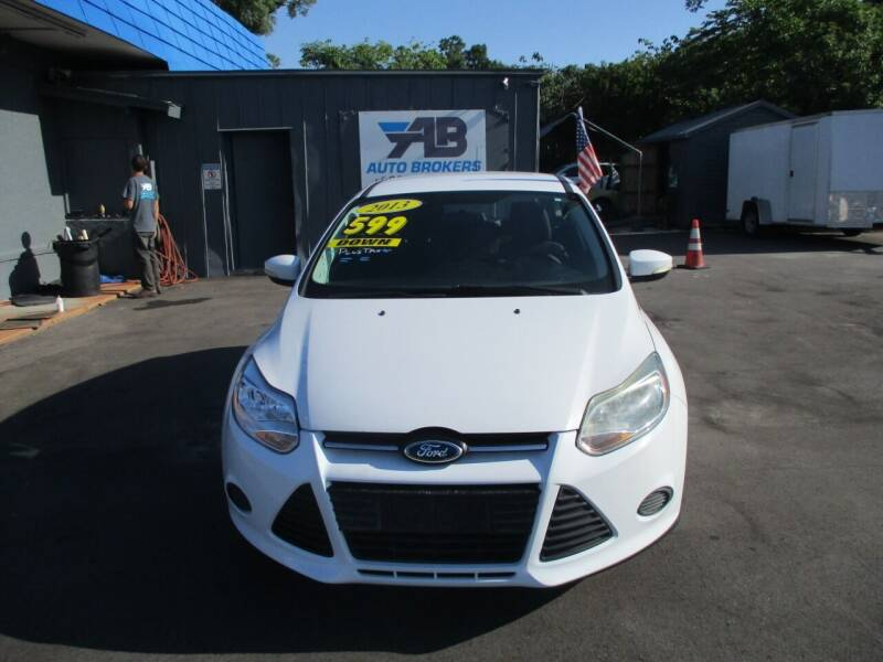 2013 Ford Focus for sale at AUTO BROKERS OF ORLANDO in Orlando FL