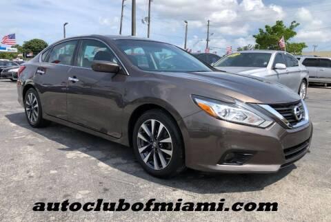 2017 Nissan Altima for sale at AUTO CLUB OF MIAMI in Miami FL