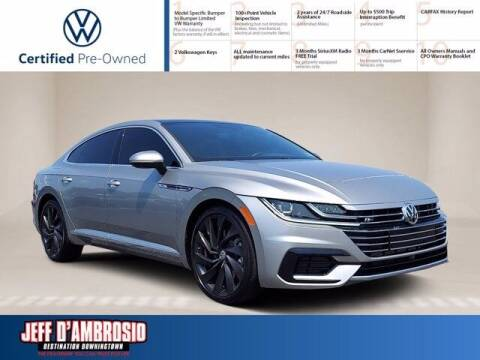 2019 Volkswagen Arteon for sale at Jeff D'Ambrosio Auto Group in Downingtown PA