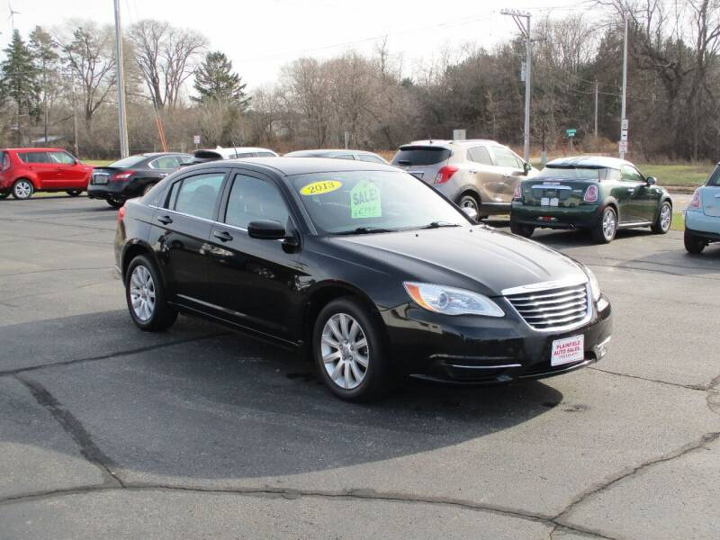 2013 Chrysler 200 for sale at Plainfield Auto Sales, LLC in Plainfield WI