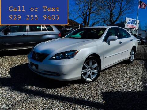 2008 Lexus ES 350 for sale at Ultimate Motors in Port Monmouth NJ
