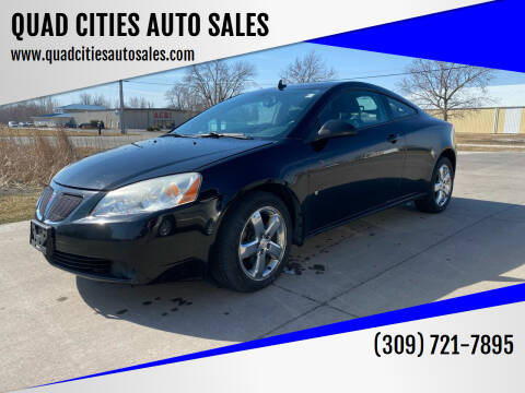 2008 Pontiac G6 for sale at QUAD CITIES AUTO SALES in Milan IL