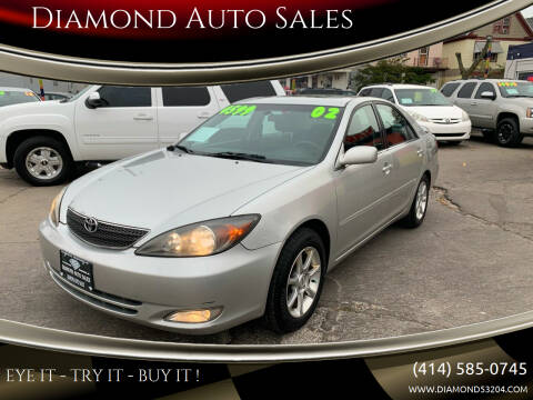 2002 Toyota Camry for sale at Diamond Auto Sales in Milwaukee WI