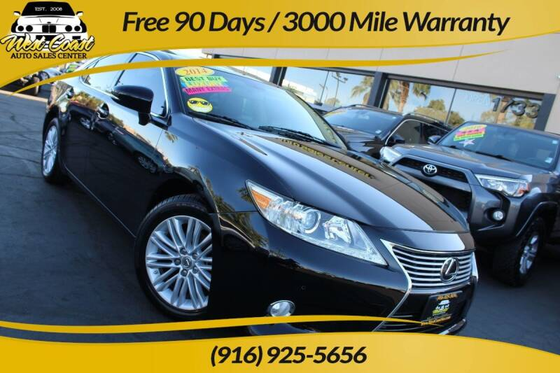 2014 Lexus ES 350 for sale at West Coast Auto Sales Center in Sacramento CA