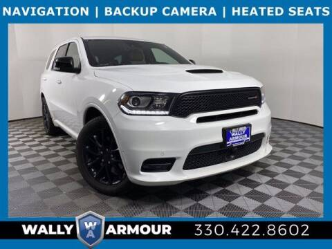 2018 Dodge Durango for sale at Wally Armour Chrysler Dodge Jeep Ram in Alliance OH